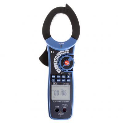 Клещи токоизмерительные проф. CEM DT-3351 для измерения постоянного и переменного тока цена