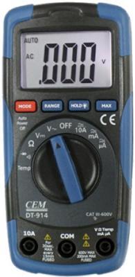 Мультиметр CEM DT-914 многофункциональный цифровой цена