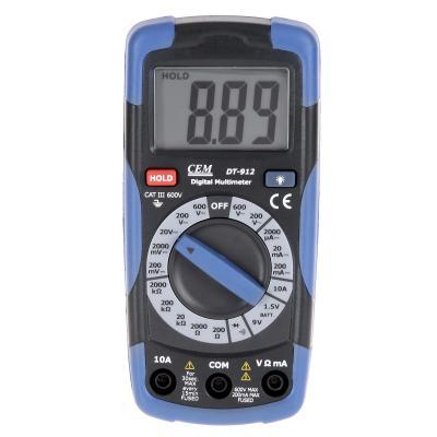 цены Мультиметр цифровой СЕМ DT-912