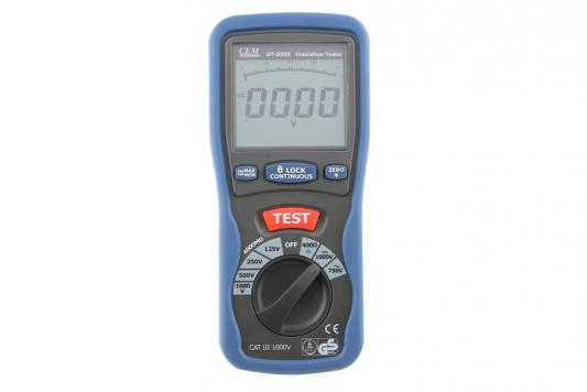 Тестер изоляции CEM DT-5505 цифровой мультиметр cem dt 932n цифровой true rms