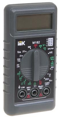 Фото - Мультиметр IEK Compact M182 цифровой micro camera compact telephoto camera bag black olive