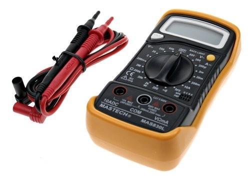 Мультиметр IEK Master MAS830L цифровой мультиметр фаzа mas830l