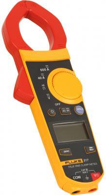 Клещи FLUKE 317 цифровая 600мА черный, желтый, красный 0,384кг fluke 317