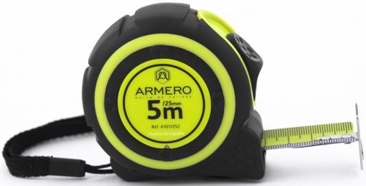 Рулетка Armero A101/252 5мx25мм степлер armero ap310 004