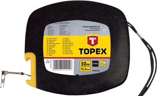 Лента мерная TOPEX 28C413 стальная 30м валик topex 20b551