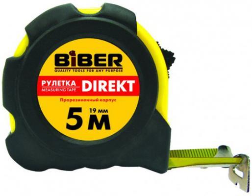Рулетка Biber 40105 10мx25мм рулетка брелок biber 40131