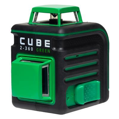 Лазерный уровень ADA CUBE 2-360 Green Ultimate Edition до20м ±3/10мм/м ±4° 535нм зеленый луч IP54 цена