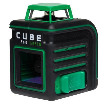 Лазерный уровень ADA CUBE 360 Green Ultimate Edition до20м ±3/10мм/м ±4° 535нм зеленый луч IP54 цена