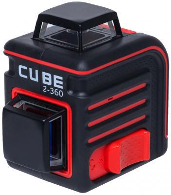 все цены на Уровень лазерный ADA Cube 2-360 Basic Edition 20(70)м ±3/10мм/м ±4° лазер2 онлайн