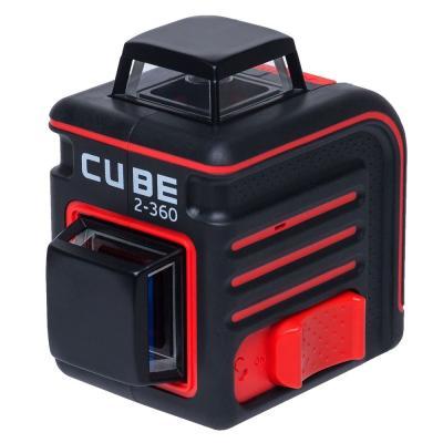 Уровень лазерный ADA Cube 2-360 Home Edition 20(70)м ±3/10мм/м ±4° лазер2 цифровой уровень ada prodigit 30