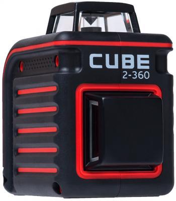 Уровень лазерный ADA Cube 2-360 Professional Edition 20(70)м ±3/10мм/м ±4° лазер2 чайник bosch twk 1201n