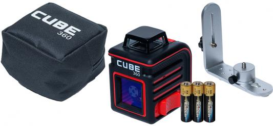 Уровень лазерный ADA Cube 360 Home Edition 20(70)м ±3/10мм/м ±4° лазер2 ada cube home edition
