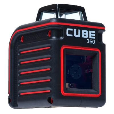 Уровень лазерный ADA Cube 360 Professional Edition 20(70)м ±3/10мм/м ±4° лазер2 цена 2017