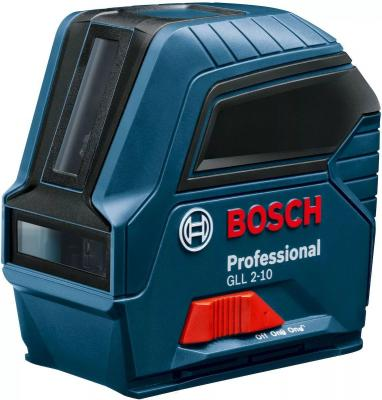 Уровень BOSCH GLL 2-10 carton 0601063L00 (0.601.063.L00) линейный 10м ±0.3мм/м уровень bosch plt 2 0603664020