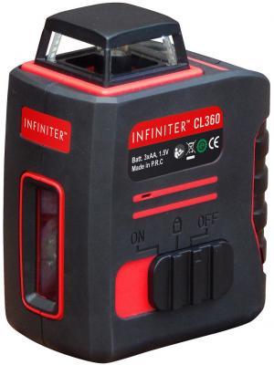 Уровень INFINITER CL360 1-2-065 лазерный нивелир 50м ±0.3мм/м ±3гр -5°С...+40°С 650нм 1/4 9ч нивелир infiniter cl360 2