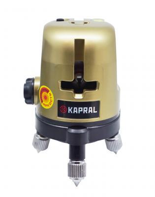 Нивелир лазерный Redtrace KAPRAL линейный крест/3 линии ±3 мм/10 м/ 30м + магнит 2 года гарантии бутенко к ред линии 2 3 года с наклейками