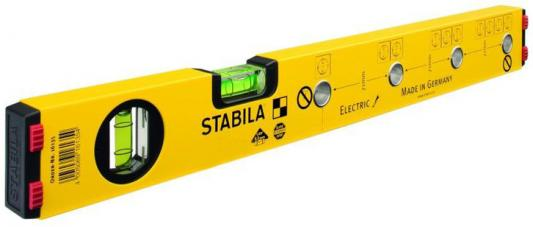 Уровень STABILA 16135 тип 70 Electric 430мм, 2 глазка, точность 0.5мм/м уровень stabila тип 96 2 100 см 15228
