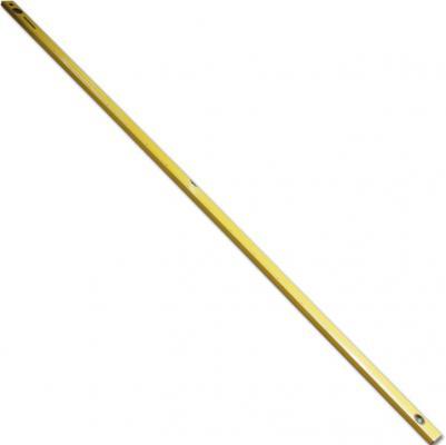 Уровень SANTOOL 050202-200 алюминиевый желтый 3 глазка с линейкой 2000мм алюминиевая линейка с пластмассовой ручкой 2 глазка 1000 мм santool 050407 001 100