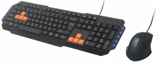 Комплект Ritmix RKC-055 черный USB ritmix rkc 001 клавиатура мышь