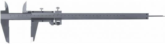 Штангенциркуль MATRIX 316345 300 мм цена деления 0.02 мм металлический с глубиномером цена