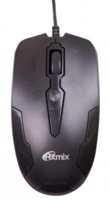 Мышь проводная Ritmix ROM-210 чёрный USB ritmix rom 303 black мышь