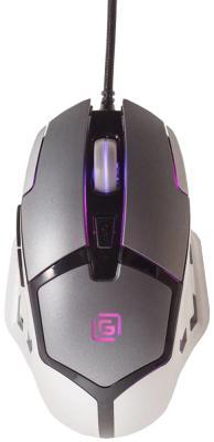 Мышь проводная Oklick 915G Hellwish V2 чёрный серебристый USB цены