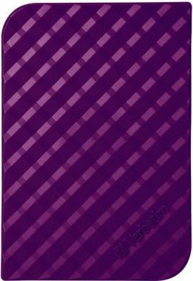 Фото - Внешний жесткий диск 2.5 USB3.0 1 Tb Verbatim Store n Go пурпурный 53212 жесткий диск