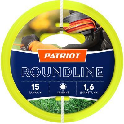 Картинка для Леска Roundline D 1,6 мм L 15 м (круглая, желтая) 165-15-1 на пластиковой обойме, блистерн.тип