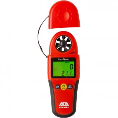 Анемометр-термометр ADA AeroTemp  0.4-30м/с, 0...+50 °C