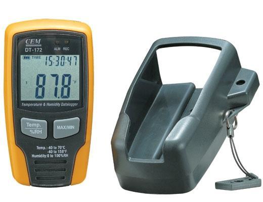 Регистратор температуры и влажности CEM DT-172 до 32700 значений