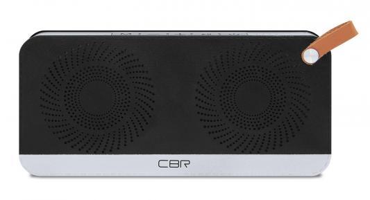 Портативная акустика CBR CMS 147Bt черный/серебристый