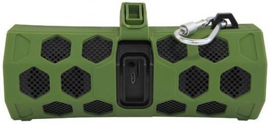Портативная акустика CBR CMS 181Bt зеленый/черный