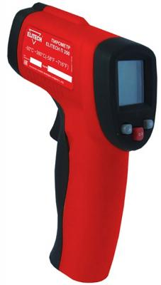 Пирометр (термодетектор) ELITECH П 350  пирометр от-50 до+380град 9в батарея лазер жк дисплей 0.15к