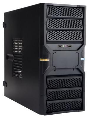 Корпус INWIN EC036BL USB 3.0 (Midi Tower, ATX, без БП, 2xUSB 3.0+Audio+MIC, черный) <6120651> корпус inwin ear037 black atx 450w usb audio