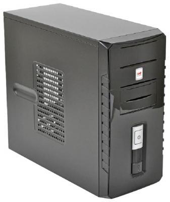 Корпус microATX InWin ENR030BL Без БП чёрный серебристый 6120740