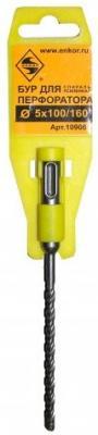 Фото - Бур ЭНКОР 10906 SDS+ Ф5х100/160мм усиленный ногтивит усиленный крем 15мл