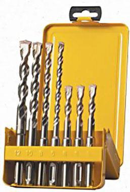 Набор буров ЭНКОР 10998 SDS+ 8шт. 5,6,8х110мм, 6,8,10х160мм, 8,10х210мм набор ключей энкор 20887