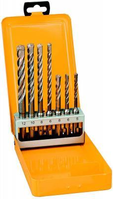 Набор буров DeWALT DT9701-QZ SDS+ EXTREME2 в металлической кассете, 7шт.