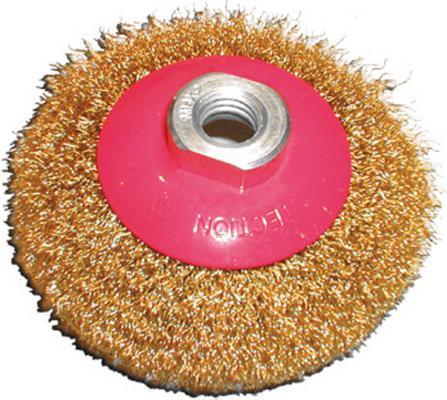 Кордщетка FIT 39050 колесо с наклоном 100мм гайка м14