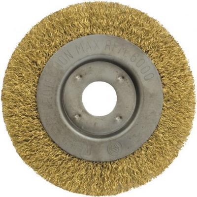 Кордщетка FIT 39065 колесо желтая 125мм