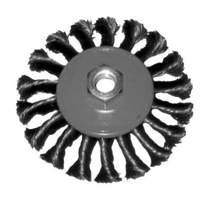 Кордщетка FIT 39101 колесо 100мм витая кордщетка fit 39015