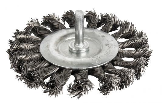 Купить Кордщетка ПРАКТИКА 242-885 для дрели радиальная витая 100мм хвост 6мм, Практика