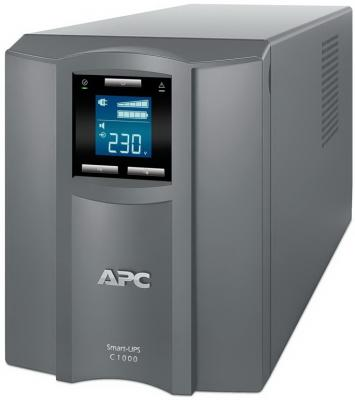 ИБП APC Smart-UPS C SMC1000I-RS 1000VA Серый uninterruptible power supply apc smart ups c smc1000i home improvement electrical equipment