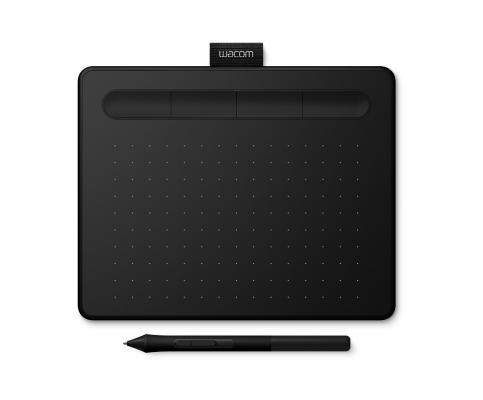 Графический планшет Wacom Intuos S Bluetooth CTL-4100WLK-N Bluetooth/USB черный планшет