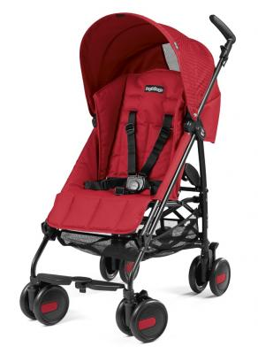 Коляска-трость Peg-Perego Pliko Mini (geo red) цена
