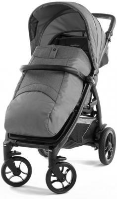Коляска прогулочная Peg-Perego Booklet 50 S (vibes grey) коляска прогулочная peg perego book cross luxe grey