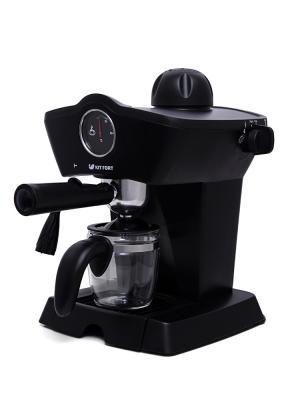 Кофеварка KITFORT KT-706 800 Вт черный цена