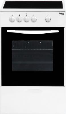 Купить со скидкой Электрическая плита Beko FCS47002 белый