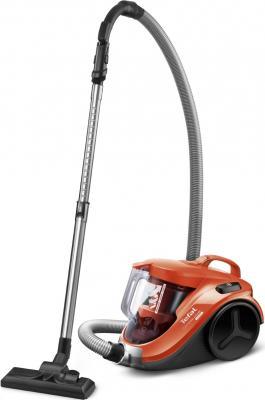 Пылесос Tefal TW3724RA сухая уборка чёрный оранжевый