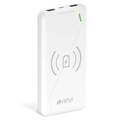 Внешний аккумулятор Power Bank 8000 мАч HIPER SX8000 белый аккумулятор внешний hiper bs10000